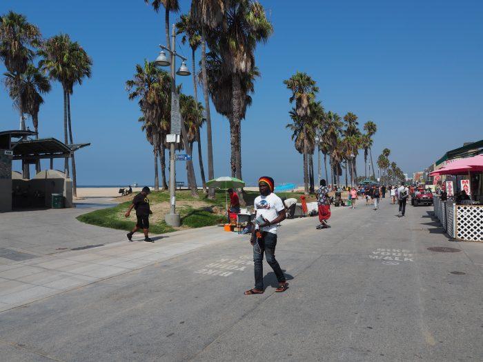 Лос Анжелес (Los Angeles). Venice Beach. Растаман (Rastaman).