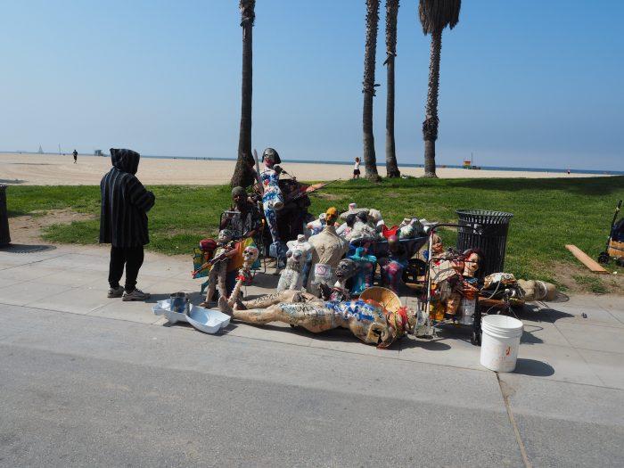Лос Анжелес (Los Angeles). Venice Beach. Ужастики