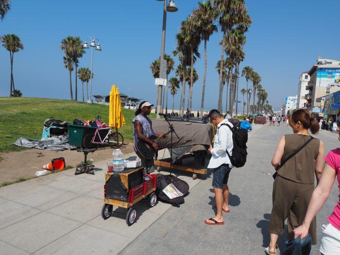Лос Анжелес (Los Angeles). Venice Beach. Ритмы пляжа.