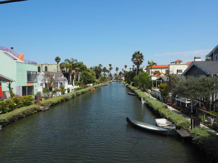 Лос Анжелес (Los Angeles) поселок Венеция (Venice).
