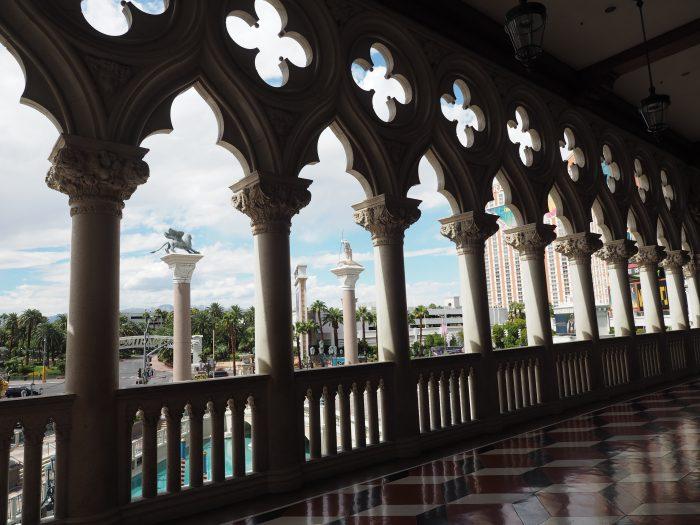 Галерея Дворца Дожей в Лас Вегасе.