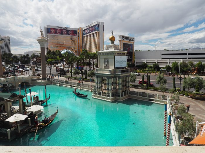Венецианские каналы в Лас Вегасе