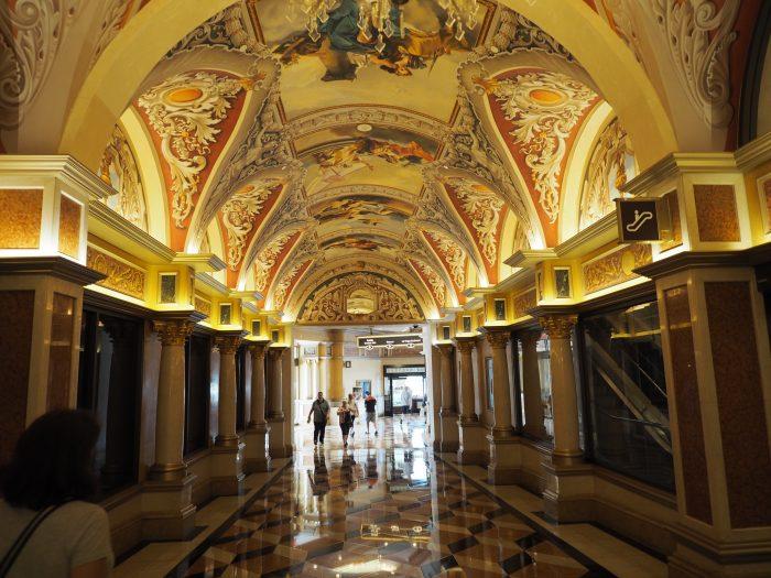 Галерея в The Venetian Las Vegas.