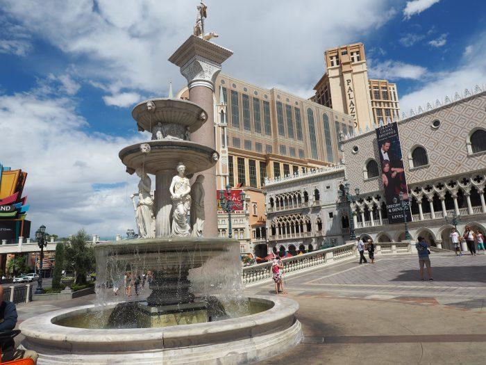 Венецианская площадь в Лас Вегасе.