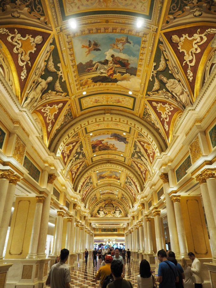 Венецианская галерея в Лас Вегасе.