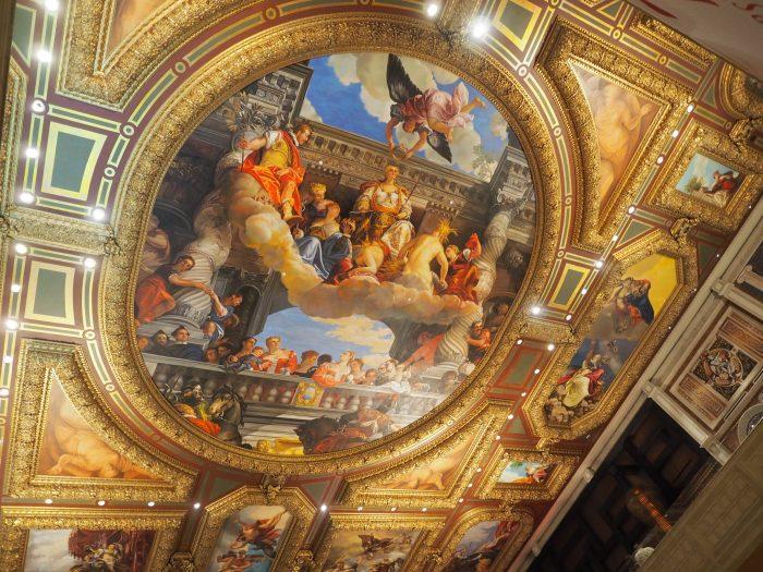 Венецианская фреска в Лас Вегасе