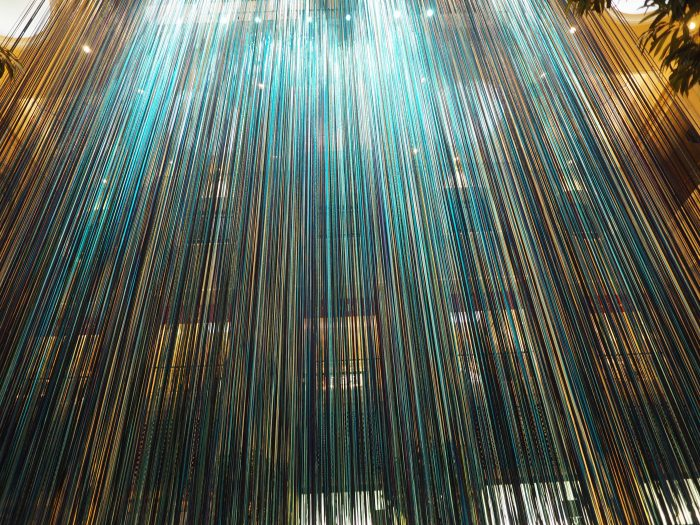 Инсталляция в отеле Венеция в Лас Вегасе.