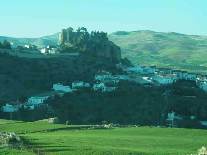 From Malaga to Ronda in January